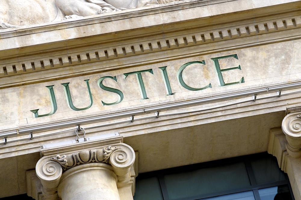 Fronton Palais de Justice - Exécution d'actes par Bretagne Huissiers