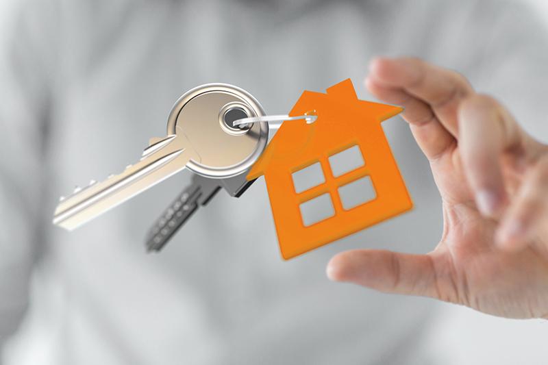 Immobilier clés reprise de logement Bretagne Huissiers